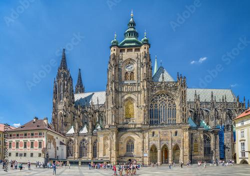Praga Katedra Świętych Wita, Wacława i Wojciecha Wallpaper Mural
