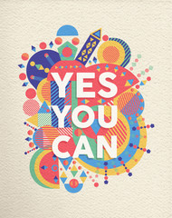 Yes you can quote poster design