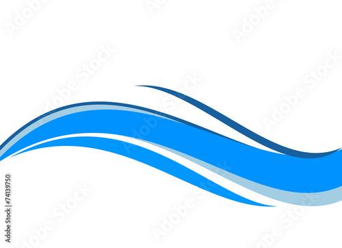 Foto  onda blu