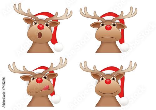 Bilder Rentiere Weihnachten.Rentiere Weihnachten Buy This Stock Vector And Explore Similar