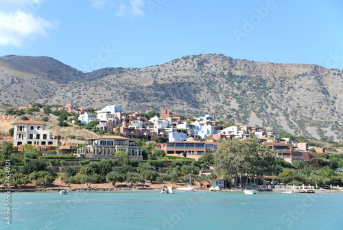 Photo Stands Egypt Küste bei Elounda, Kreta
