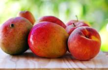 Peach And Mango Fruits