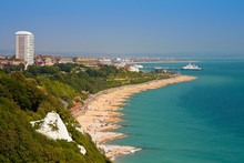Eastbourne From The Cliffs Of ...