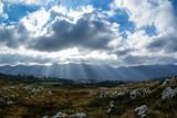 Niebo nad górami w Hiszpanii