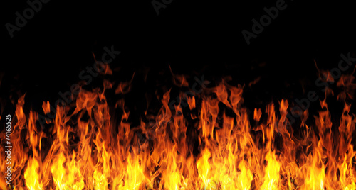 Fotobehang Vuur abstract fire flame background