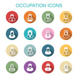 occupation long shadow icons