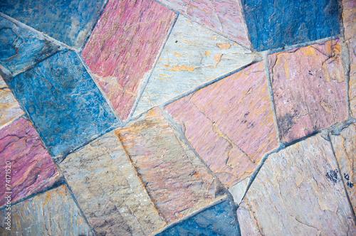 Fototapety, obrazy: Blocks made floor.