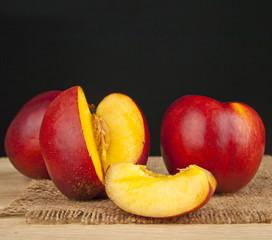 Fototapeta na wymiar peaches