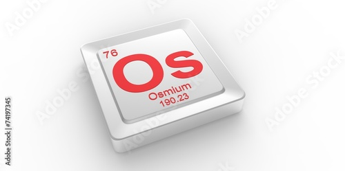 Os symbol 76 for osmium chemical element of the periodic table buy os symbol 76 for osmium chemical element of the periodic table urtaz Gallery
