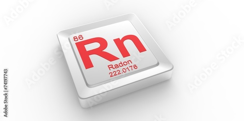 Rn Symbol 86 For Radon Chemical Element Of The Periodic Table Buy