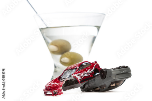 Fotografia, Obraz  drunk driving concept