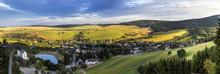 Blick Auf Oberwiesenthal