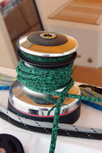 Sailing Yacht Winch With Green...