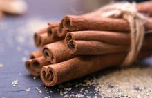 Star Anise With Cinnamon Stick...