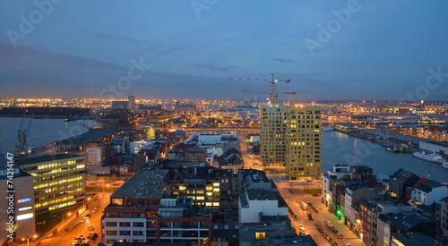 Keuken foto achterwand Antwerpen View over antwerp