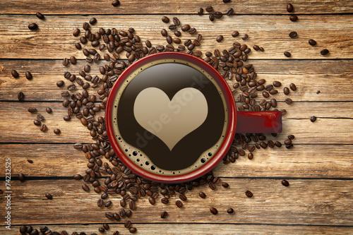 Kaffee mit Herz!