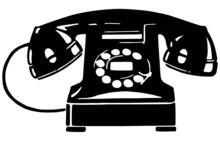 Retro Telephone 1
