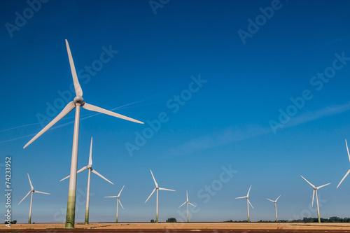 Aluminium Prints Mills Wind turbines generating electricity