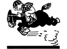 Jockey On Racehorse 2