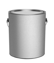 Metal Gallon Paint Can With Bl...