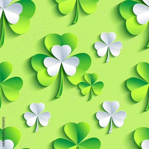 tlo-wzor-zielony-bez-szwu-z-3d-koniczyna-patrick