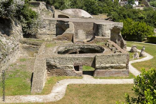 Photo Archaeological site in Baia near Naples