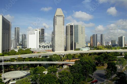 Сингапур. Вид с колеса обозрения. Poster