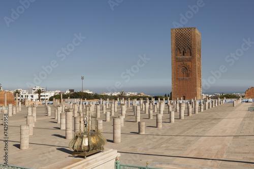 Fényképezés  Мемориальный комплекс на месте развалин мечети Хассана. Рабат.