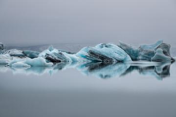 Panel Szklany Iceberg en mouvement