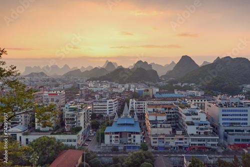 Valokuva Guilin China