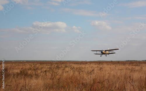 Türaufkleber Flugzeug Old airplane