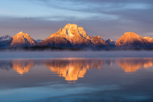 Grand Teton Mountain  Range, J...