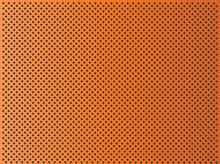 Metal Perforated Texture Orange Background