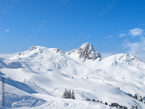 Winter in alps #74318970