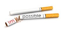 3d Stop Smoking Concept