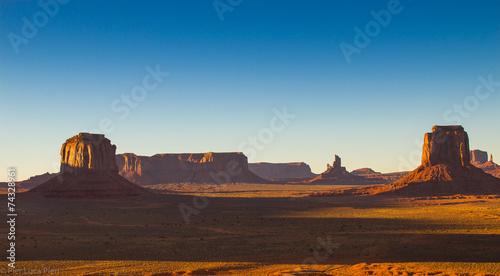 Keuken foto achterwand Afrika Monument Valley