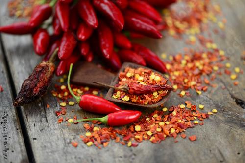 Printed kitchen splashbacks Spices Schoten