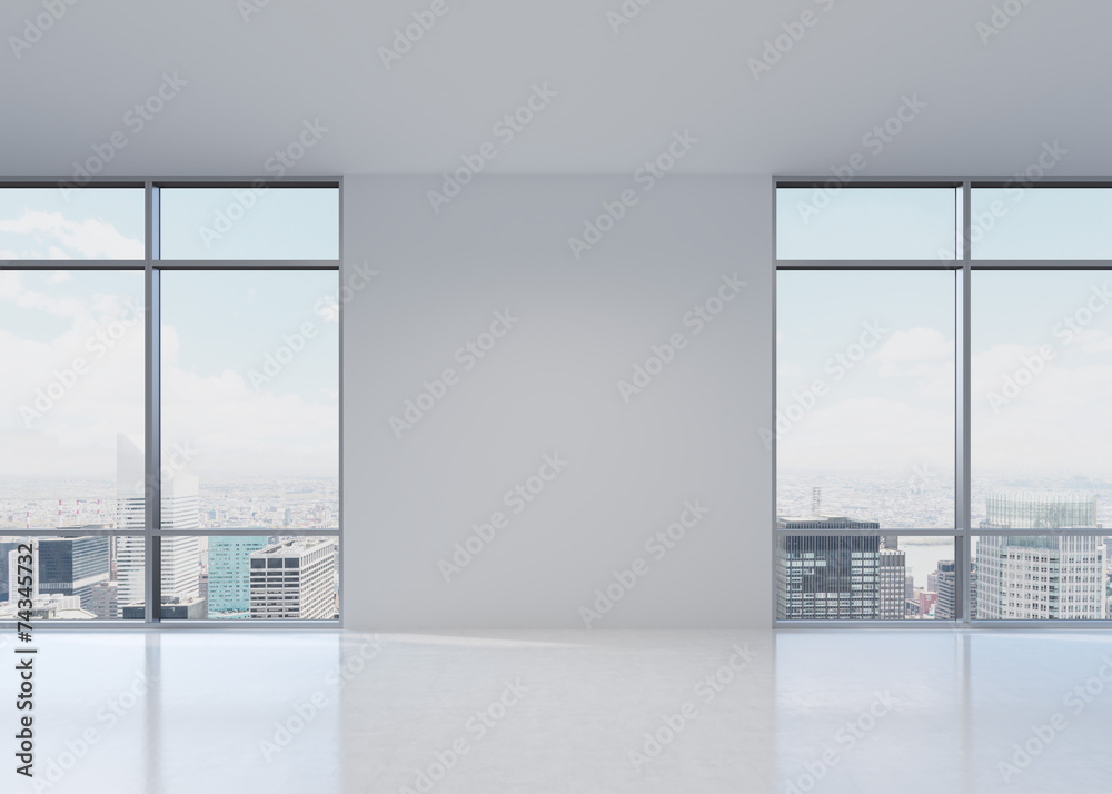 office with two windows