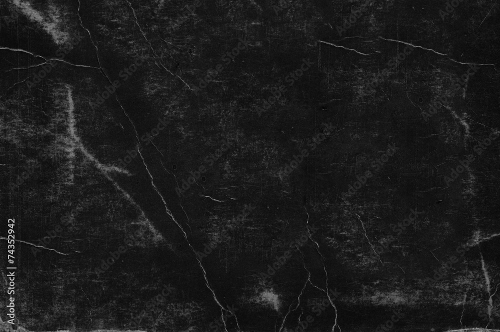 Fototapety, obrazy: scratched black paper texture