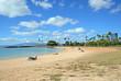 Magic Island Lagoon, Honolulu, Hawaii