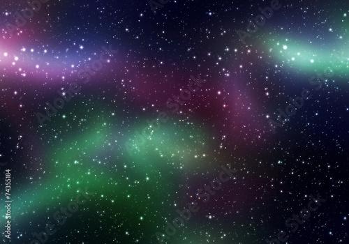 plakat Magia przestrzeni Światła
