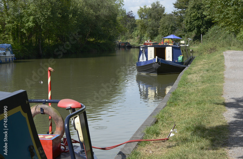 Fotografie, Obraz Kennet and Avon Canal at Devizes. England