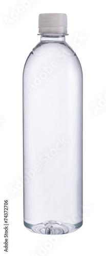 Small plastic water bottle Canvas Print