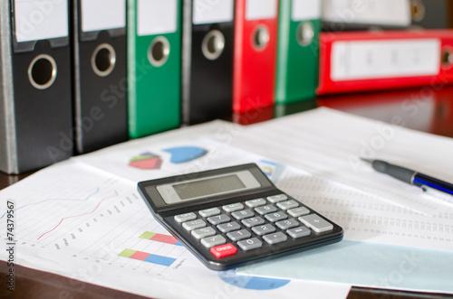 Fotografía  Accounting desktop