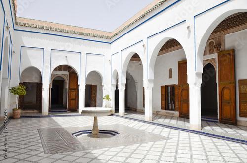 Foto op Plexiglas Marokko Bahia Palace