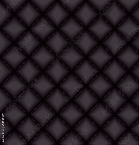 Deurstickers Leder Dark textured background