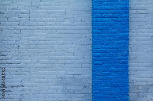 obraz PCV muro azul