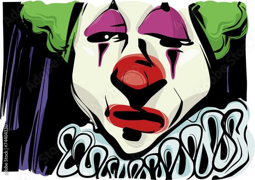 komiksowy-smutny-klaun