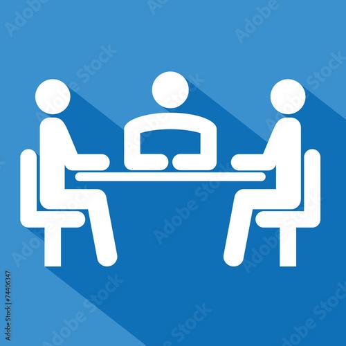 Fotografie, Obraz  Logo réunion.