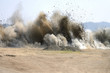 canvas print picture - Air Blast